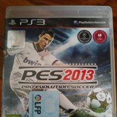 Videojuegos y Consolas: PRO EVOLUTION SOCCER PES 2013 PS3. Lote 195445550