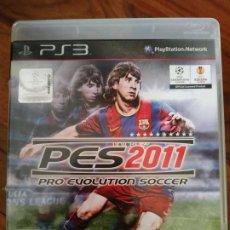 Videojuegos y Consolas: PRO EVOLUTION SOCCER PES 2011 PS3. Lote 195445561