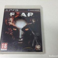 Videojuegos y Consolas: F3AR . FEAR 3 . F.3.A.R.. Lote 195506216