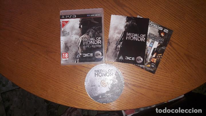 JUEGO PLAY 3 MEDAL OF HONOR TIER 1 EDITION (Juguetes - Videojuegos y Consolas - Sony - PS3)