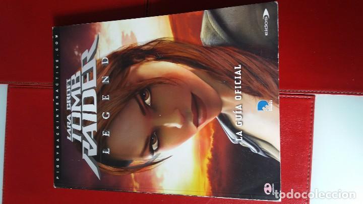 GUIA OFICIAL TOMB RAIDER LEGEND (Juguetes - Videojuegos y Consolas - Sony - PS3)