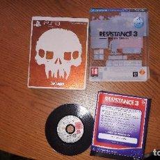 Videojuegos y Consolas: JUEGO PLAY 3 RESISTANCE 3 EDICION ESPECIAL. Lote 196212516