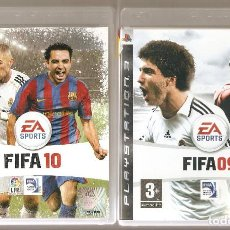 Videojuegos y Consolas: GRAN LOTE 6 VIDEOJUEGOS FUTBOL PS3 FIFA PRO EVOLUTION SOCCER PES 2009 2010 2011 2012 CON MANUALES !!. Lote 198111198