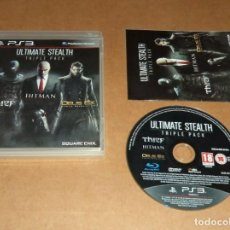 Videojuegos y Consolas: ULTIMATE STEALTH TRIPLE PACK , PARA SONY PLAYSTATION 3 / PS 3 , PAL. Lote 224263260
