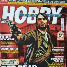 Videojuegos y Consolas: HOBBY CONSOLAS Nº 223- RED DEAD REDEMPTION- SUPER STREET FIGHTER IV- GOD OF WAR- BLAZBLUE- RESONANCE. Lote 199577128