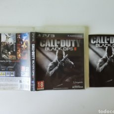 Videojuegos y Consolas: CAJA Y MANUAL CALL OF DUTY BLACK OPS II 2 PS3. Lote 257446405