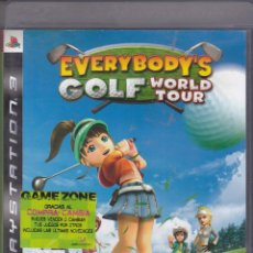 Videojuegos y Consolas: EVERYBODYS GOLF WORLD TOUR PS3. Lote 199823958