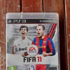 Videojuegos y Consolas: JUEGO DE LA PS 3, FIFA 11. Lote 200744791