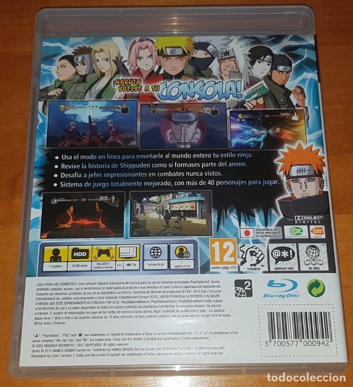 Videojuegos y Consolas: LOTE NARUTO ULTIMATE NINJA STORM PS3 (2, 3 Y REVOLUTION). BUEN ESTADO - Foto 3 - 200838107