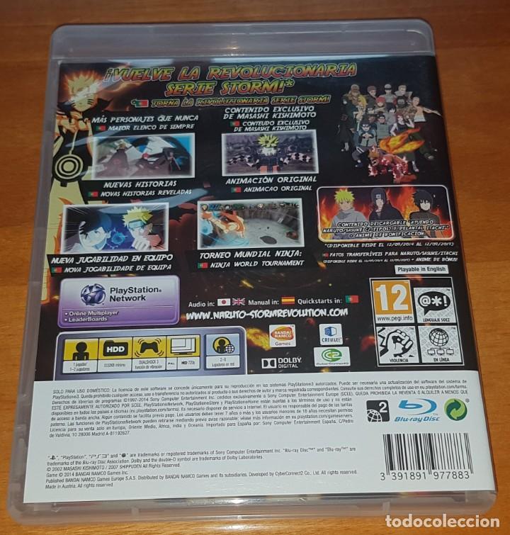 Videojuegos y Consolas: LOTE NARUTO ULTIMATE NINJA STORM PS3 (2, 3 Y REVOLUTION). BUEN ESTADO - Foto 5 - 200838107