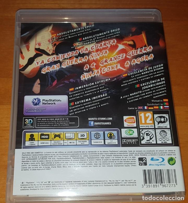 Videojuegos y Consolas: LOTE NARUTO ULTIMATE NINJA STORM PS3 (2, 3 Y REVOLUTION). BUEN ESTADO - Foto 8 - 200838107
