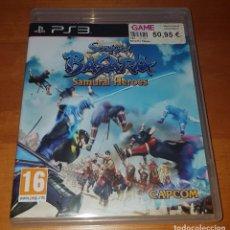 Videojuegos y Consolas: SENGOKU BASARA SAMURAI HEROES PS3 (CAPCOM). BUEN ESTADO. Lote 200839417