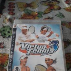 Videojuegos y Consolas: VIRTUAL TENNIS 3. PARA PLAYSTATION 3. EDICION SEGA. Lote 202887496