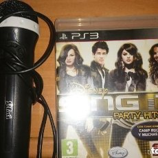 Videojuegos y Consolas: PLAY STATION 3, MICRO + JUEGO CAREOKE,SINGIT PARTY HITS,. Lote 205246776