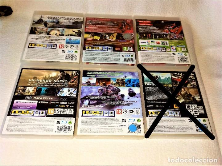 Videojuegos y Consolas: CONSOLA PS3 SLIM + 2 Mandos + 5 Juegos + Caja + Soporte + Cables + Manuales + - Foto 6 - 189689963
