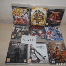 Videojuegos y Consolas: PS3 - PACK DE 9 JUEGOS VARIADOS , PAL ESPAÑOLES. Lote 205702072