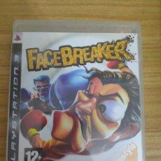 Videojuegos y Consolas: JUEGO PARA PS3 FACEBREAKER (EN INGLÉS) PLAY STATION 3. Lote 205872951