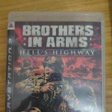Videojuegos y Consolas: JUEGO PARA PS3 BROTHERS IN ARMS (EN INGLÉS) PLAY STATION 3. Lote 205872975
