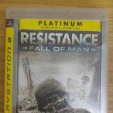 Videojuegos y Consolas: JUEGO PARA PS3 RESISTANCE - FALL OF MAN (EN ESPAÑOL) PLAY STATION 3. Lote 205873036