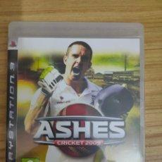 Videojuegos y Consolas: JUEGO PARA PS3 ASHES CRICKET 2009 (EN INGLÉS) PLAY STATION 3. Lote 205873106
