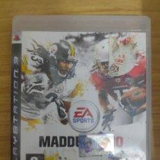 Videojuegos y Consolas: JUEGO PARA PS3 MADDEN NFL 10 (EN INGLÉS) PLAY STATION 3. Lote 205873113