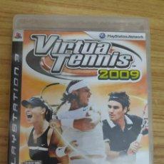 Videojuegos y Consolas: JUEGO PARA PS3 VIRTUA TENNIS 2009 (EN INGLÉS) PLAY STATION 3. Lote 205873122