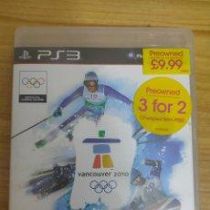 Videojuegos y Consolas: JUEGO PARA PS3 VANCOUVER 2010 (EN INGLÉS) PLAY STATION 3. Lote 205873142