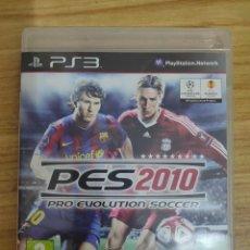 Videojuegos y Consolas: JUEGO PARA PS3 PES 2010 (EN INGLÉS) PLAY STATION 3. Lote 205873146
