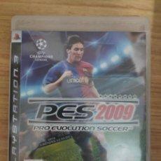 Videojuegos y Consolas: JUEGO PARA PS3 PES 2009 - PLAY STATION 3. Lote 205873148