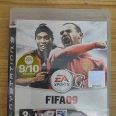 Videojuegos y Consolas: JUEGO PARA PS3 FIFA 09 (EN INGLÉS) PLAY STATION 3. Lote 205873152