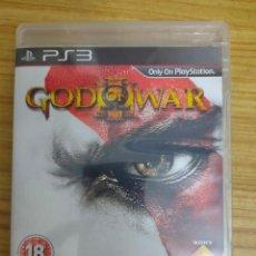 Videojuegos y Consolas: JUEGO PARA PS3 GOD OF WAR III (EN INGLÉS) PLAY STATION 3. Lote 206189531