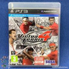Videojuegos y Consolas: VIDEOJUEGO - PS3 - PLAYSTATION 3 - VIRTUAL TENNIS 4. Lote 206261918