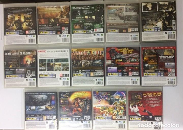 Videojuegos y Consolas: Sony Playstation 3 Super Slim 500GB Consola Sobremesa PS3 Negra Incluye Juegos - Foto 11 - 206374990
