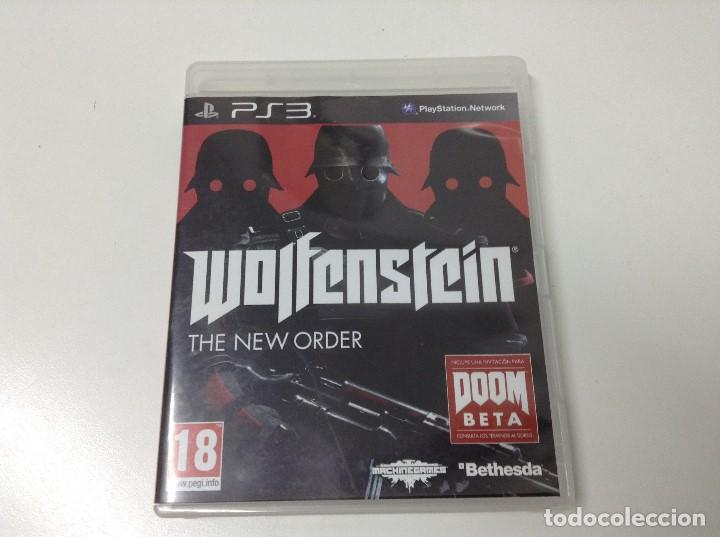 WOLFENSTEIN THE NEW ORDER (Juguetes - Videojuegos y Consolas - Sony - PS3)