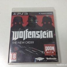 Videojuegos y Consolas: WOLFENSTEIN THE NEW ORDER. Lote 206393711