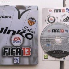 Videojuegos y Consolas: FIFA 13 CAJA METALICA CON JUEGO PS3 PLAYSTATION 3 PLAY STATION 3 KREATEN VALENCIA. Lote 206464446