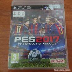 Videojuegos y Consolas: PES 2017 PS3. Lote 206492931