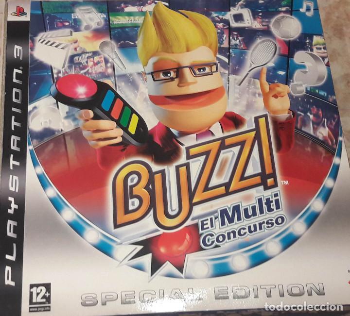 Buzz El multi Concurso Playstation 3 Special Edition Completo segunda mano