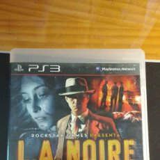 Videojuegos y Consolas: L.A. NOIRE - JUEGO PS3 (INCLUYE MANUAL). Lote 207923835