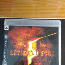 Videojuegos y Consolas: RESIDENT EVIL 5 - JUEGO PS3 - INCLUYE MANUAL. Lote 207925696