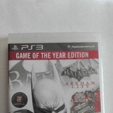 Videojuegos y Consolas: PS3 BATMAN ARKHAM CITY INGLÉS PRECINTADO. Lote 208130507