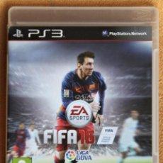 Videojuegos y Consolas: PS3 FIFA 2016. Lote 208148751