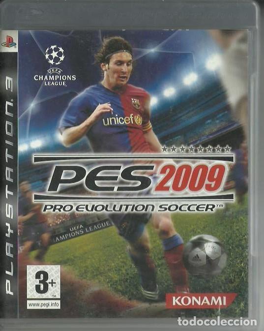 PES 2009 (Juguetes - Videojuegos y Consolas - Sony - PS3)