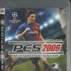 Videojuegos y Consolas: PES 2009. Lote 208964413
