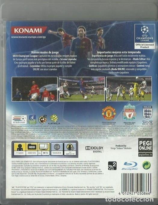Videojuegos y Consolas: PES 2009 - Foto 2 - 208964413