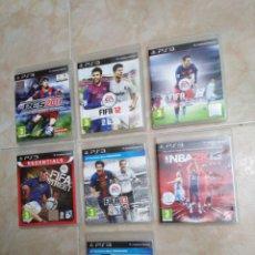 Videojuegos y Consolas: LOTE DE 7 JUEGOS PS3 VARIADOS. Lote 209215618