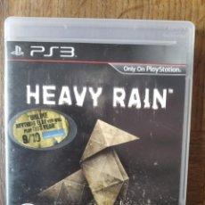 Videojuegos y Consolas: HEAVY RAIN - PLAYSTATION 3 PS3- JUEGO PAL -. Lote 210024666