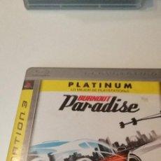Videojuegos y Consolas: G-10 BURNOUT PARADISE PLATINUM PS3 PLAYSTATION 3 PLAY STATION KREATEN. Lote 210055577