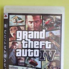 Videojuegos y Consolas: SONY PLAYSTATION 3 GRAND THEFT AUTO IV GTA PS3 JUEGO VIDEOCONSOLA. Lote 210455822