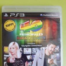 Videojuegos y Consolas: 40 PRINCIPALES KARAOKE PS3 PLAYSTATION 3 JUEGO DE VIDEOCONSOLA. Lote 210456437